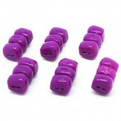 Плавающие насадки Evolution Carp Tackle Corn Stacks - Purple 6шт.
