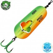 Блесны колеблющиеся MADCAT® A-STATIC RATTLIN' SPOON - 110g - FIRETIGER