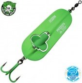 Блесны колеблющиеся MADCAT® A-STATIC RATTLIN' SPOON - 110g - GREEN