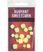 Плавающие приманки E-S-P Fluoro Buoyant Sweetcorn - Green/Yellow - 16шт.