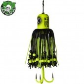 Блесны вертикальные MADCAT® A-STATIC CLONK TEASER Treble Hook - FLUO YELLOW UV