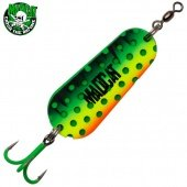 "Блесны колеблющиеся MADCAT® A-STATIC TWIN ""TURBINE"" SPOON - 85g - FIRETIGER"