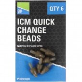 Коннектор для кормушек Preston Innovations ICM IN-LINE QUICK CHANGE BEAD / 6шт.