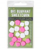 Плавающие приманки E-S-P Big Fluoro Buoyant Sweetcorn - Pink/White - 18шт.