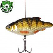 Воблеры MADCAT® INLINE RATTLER - PERCH