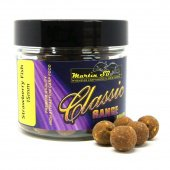 Бойлы тонущие Martin SB Classic Boilies Strawberry Fish