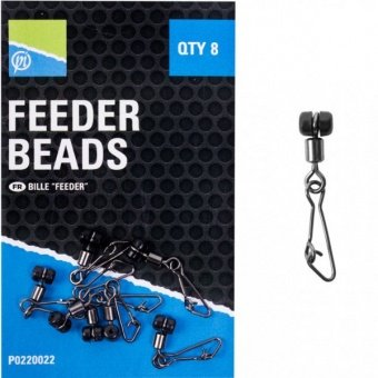Бусина скользящая с застежкой Preston Innovations FEEDER BEAD / 8шт.