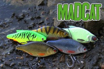 Воблеры MADCAT® INLINE RATTLER - 13cm - GLOW-IN-THE-DARK