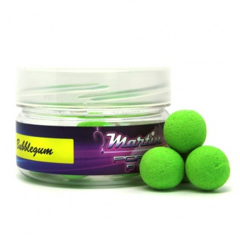 Бойлы плавающие Martin SB XTRA Pop-Ups Bubblegum Fluoro - Green 15mm/25гр.