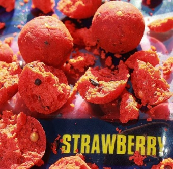 Бойлы тонущие Martin SB Classic Boilies Strawberry